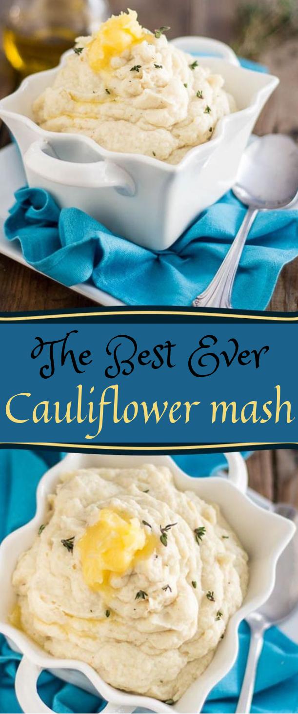 THE BEST CAULIFLOWER MASH EVER #cauliflower #dinner