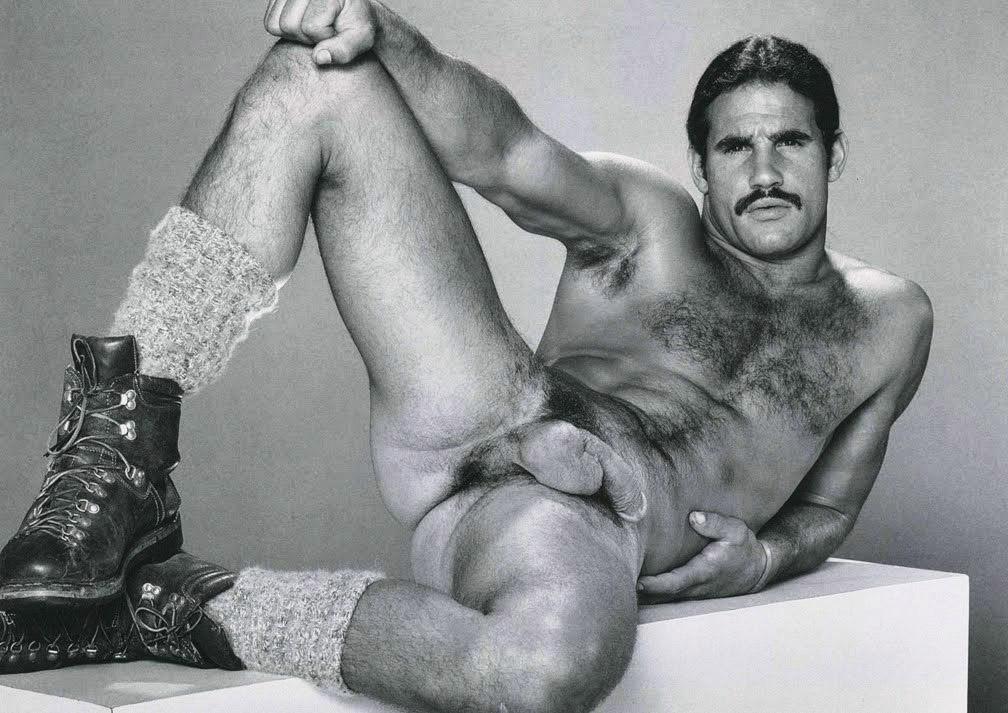 Vintage Gay Men Card