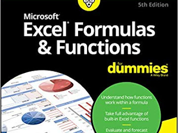 Excel Formulas and Functions For Dummies 5th Edition