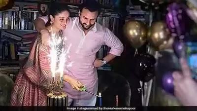 Kareena Kapoor shared video on Saif Ali Khans birthday
