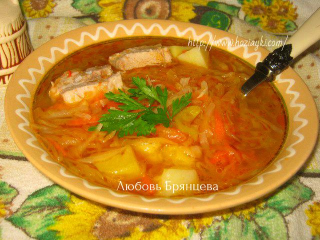 Рецепт бабушкин борщ