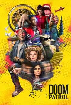 Doom Patrol 3ª Temporada Torrent – WEB-DL 720p/1080p Dual Áudio