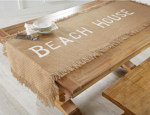 Beach Jute Table Runner