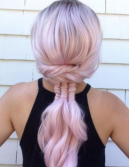 pink hairstyle inspiraion