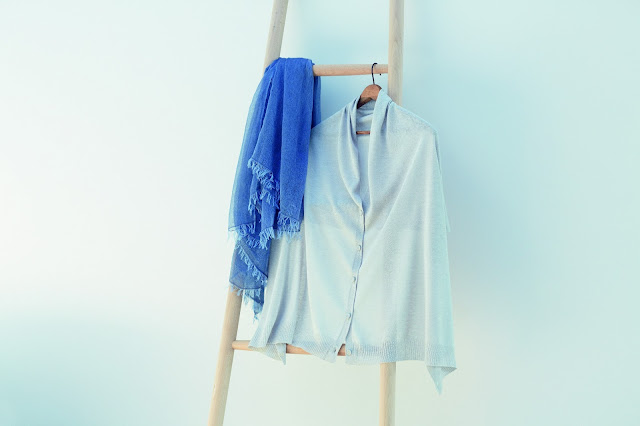 MUJI long sleeve shirt and scarf