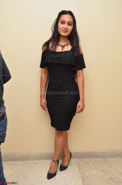 South Actress Amulya in short black dress at Kalamandir Foundation 7th anniversary Celebrations ~  Actress Galleries 002.JPG