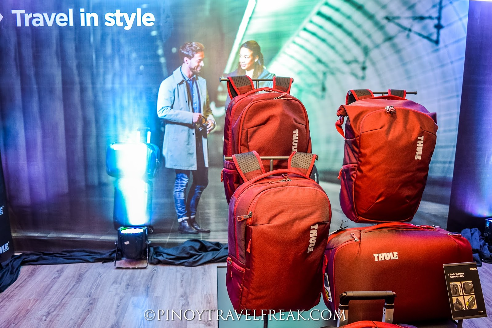 Pinoy Travel Freak  Thule launches Subterra travel bag collection e668c297a3f1d