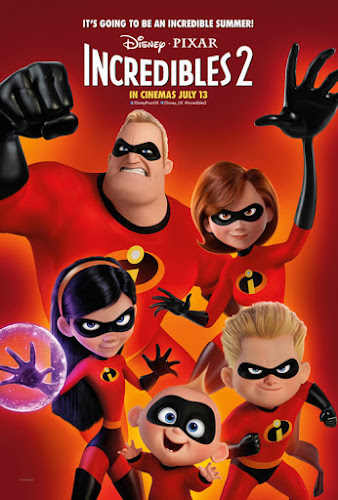 Incredibles 2 (Web-DL 720p Dual Latino / Ingles) (2018)