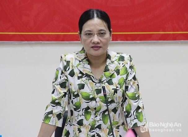 Phó Chủ tịch HĐND tỉnh Cao Thị Hiền