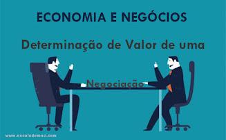 Determinação de Valor de Negociação