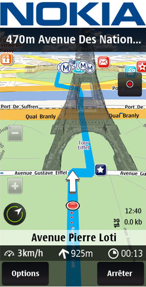 Nokia Web Ovi Maps Optimized For Iphone And Android Geoawesomeness