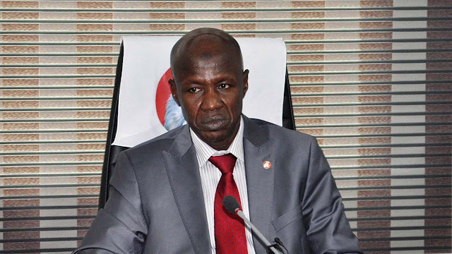 Drama As Police Seize Ibrahim Magu's Bulletproof Vehicles, Seal Office