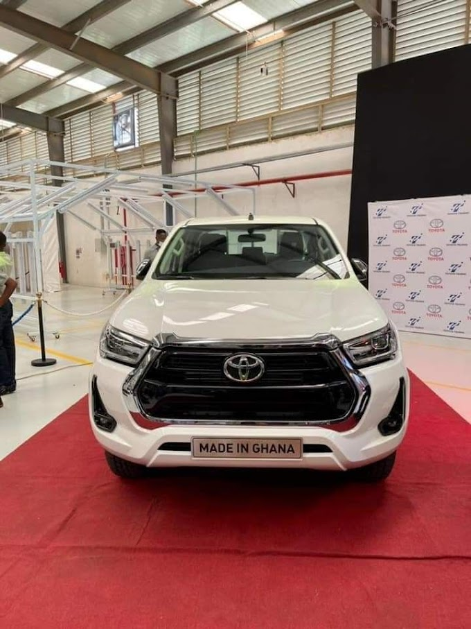 First Made-in-Ghana Toyota cars hit the market