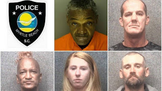 Six people facing charges after 8 shoplifting reports in Myrtle Beach