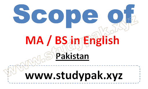 Bs and MA english literature and linguistics scope