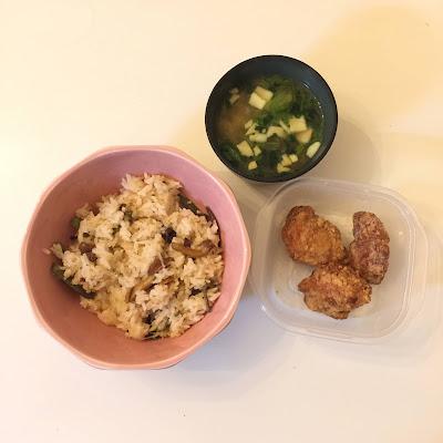山菜ミックス,業務スーパー,炊き込みご飯