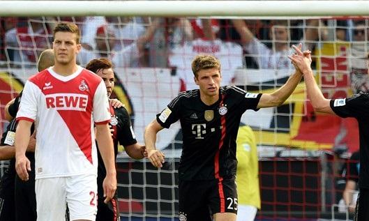 مباراة بايرن ميونخ وكولن ضمن مباريات الدوري الألماني 2019