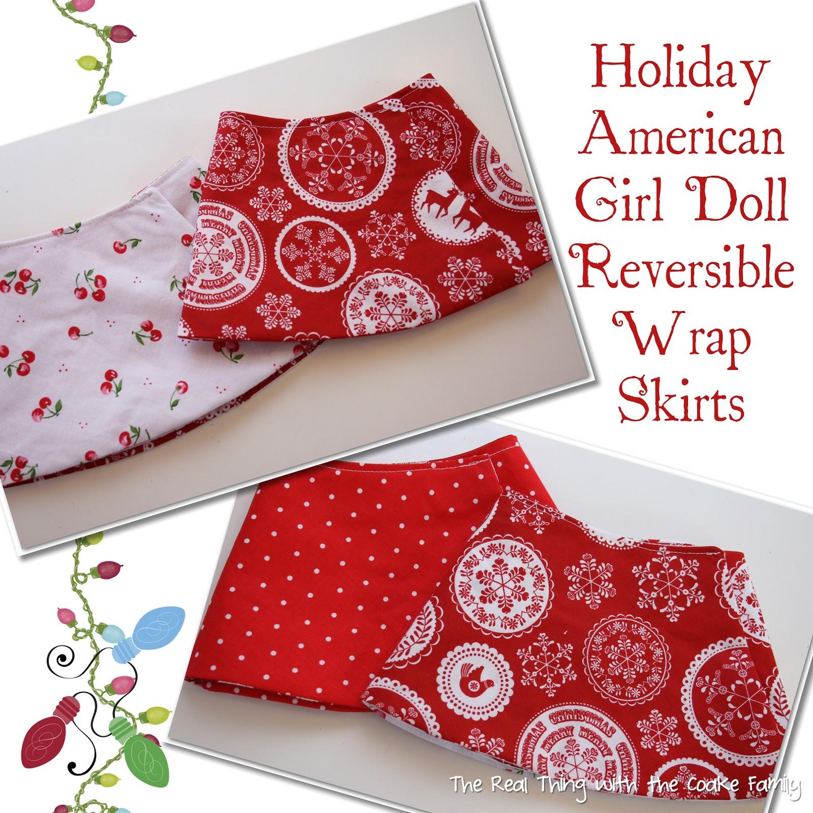 American Girl Doll Christmas Craft Ideas