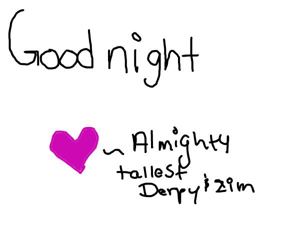 god bless good night