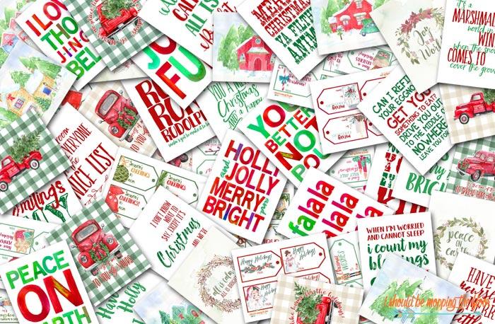 49 Festive Christmas Printables