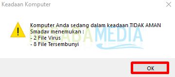 Cara Menghilangkan Virus Shortcut Di Flashdisk dengan Smadav