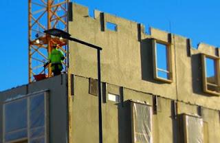 Hormigón con fibras para fachadas prefabricadas autoportantes