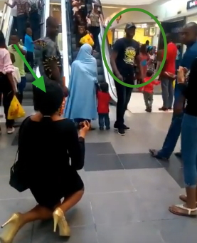 married man rejects girlfriend proposal ikeja city mall
