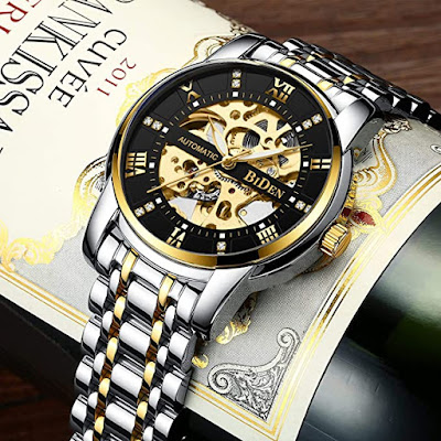 Mens Watches Mechanical Automatic Self-Winding