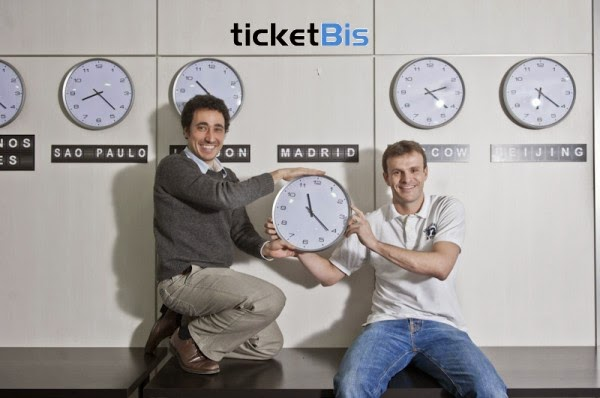 Los fundadores de TicketBis