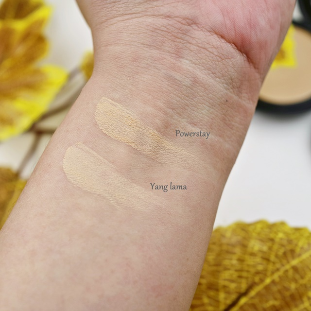 Swatch Bedak Makeover Honey Vs Honey Beige