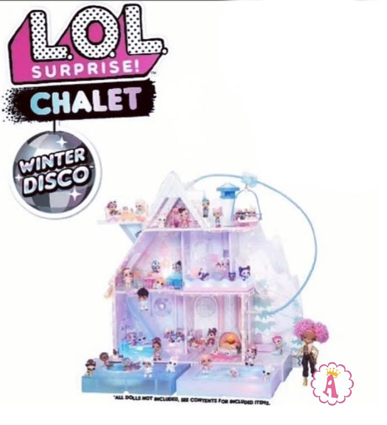 Ледяной замок L.O.L. Surprise Chalet Winter Disco