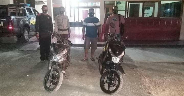 Unit Reskrim Polsek Abepura Kembali Amankan Dua SPM di Keerom