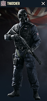 Portrait of Thatcher - Rainbow Six Siege Operator