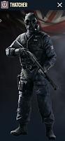 Portrait of Thatcher - Rainbow Six Siege Operator