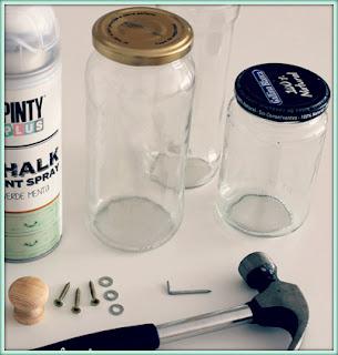 cómo personalizar frascos