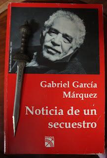 Portada del libro Noticia de un secuestro, de Gabriel García Márquez