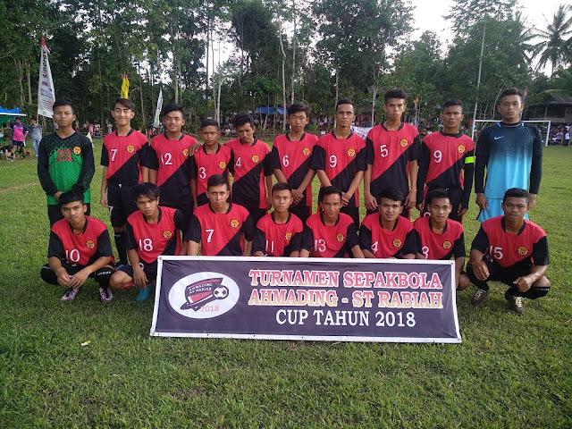 Turnamen Sepak Bola Ahmading ST Rabiah Cup Lebih Meriah Dibanding Turnamen di Stadion Lapatau, Ini Kata Penonton