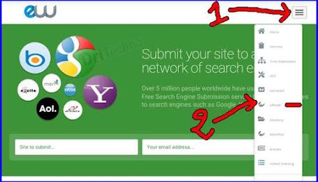 موقع entireweb لاضافة موقعك الى محركات البحث