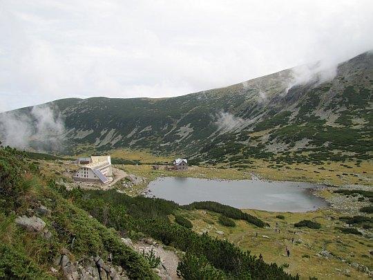 Pierwsze napotkane Musaleńskie Jezioro.