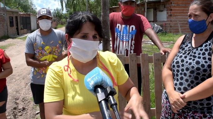 Vecinos de Barrio La Tablita reclamaron por Agua Potable, Recoleccion de Basura  y Luz