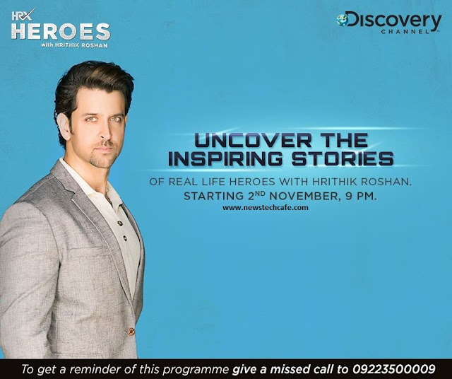 'HRX Heroes' Discovery India Upcoming Tv Show Wiki Plot |Hrithik as Host |Promo |Timing