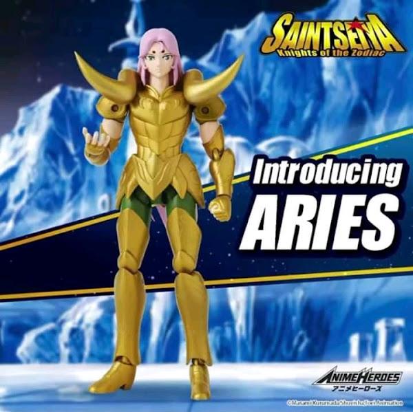 Mü de Aries Anime Heroes
