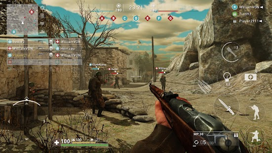 Ghosts of War WW2 Shooting game Screenshot
