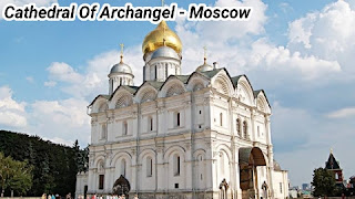 Cathedral Of Archangel in Moscow City Russia
