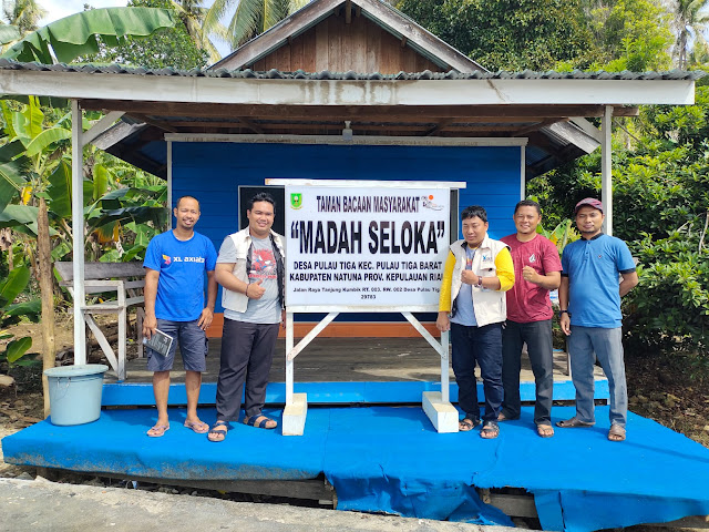 Pengkaji Literasi dari Kemendikbudristek Apresiasi Gerakan Literasi  Nasional di Kabupaten Natuna