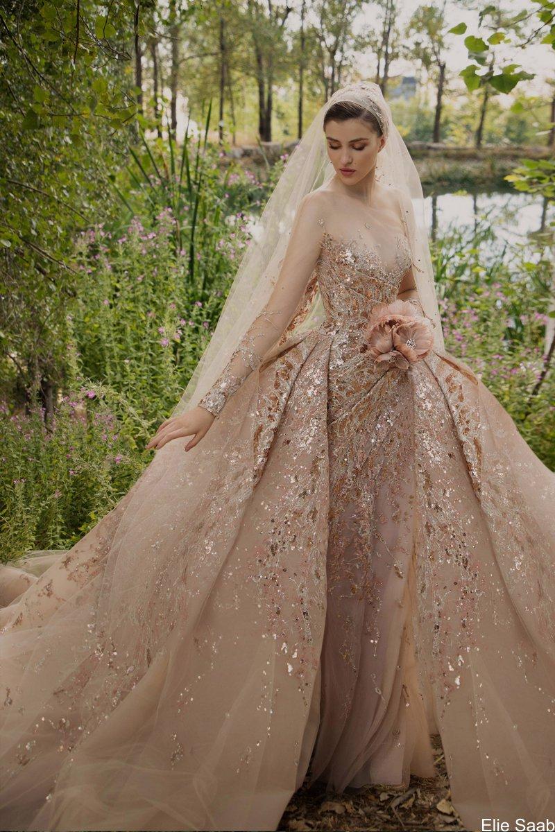 Elie Saab Alta Costura para Outono e Inverno 2021 - Beirute A Fonte Sagrada