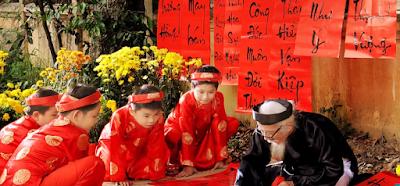 Tet Festival customs in Vietnam