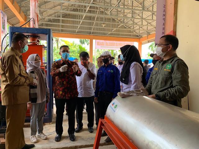 PT CPI – Unilak Berdayakan Bank Sampah di Riau  Untuk Tungkatkan Kesejahteraan Masyarakat
