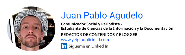 Perfil blogger Juan Pablo Agudelo Linkedin