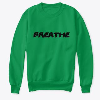 Breathe Kids Crew Neck Sweatshirt Green